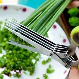 Ciseaux de cuisine à 5 lames