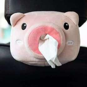Cochon distributeur de mouchoirs