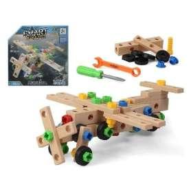 Jeu de construction avec outils 80 pièces
