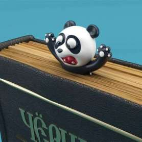 Marque-page panda cartoon