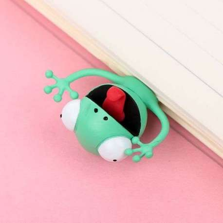 Marque-page gecko cartoon