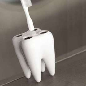 Porte brosses à dents dent