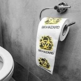 Rouleau de papier toilettes déchets biologiques
