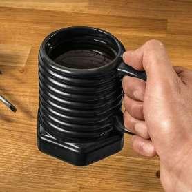 Tasse vis à écrou noire
