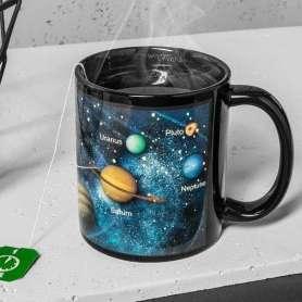 Mug thermoréactif système solaire